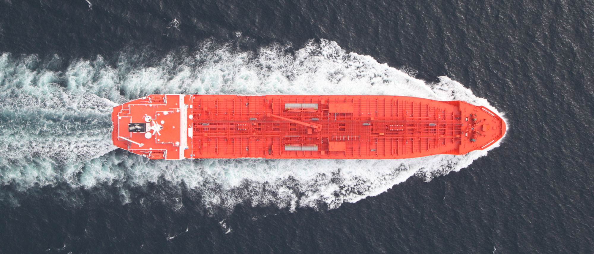 Ariel view of Cayman flagged merchant vessel