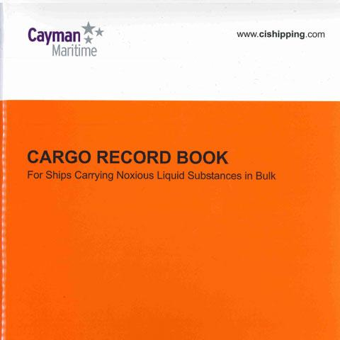 Cover of Cargo Record Book