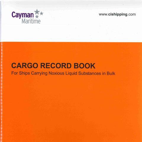Cover of Cargo Record Book